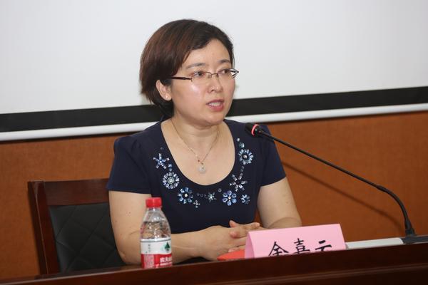 5  南京师范大学教育科学院党委书记余嘉云讲话