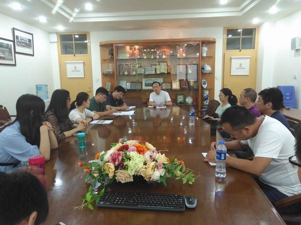 与上海中远实验学校老师真诚沟通