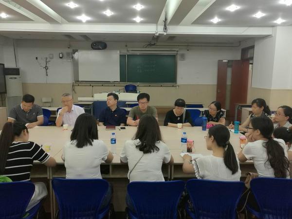 高中组老师与上海市西中学老师交流