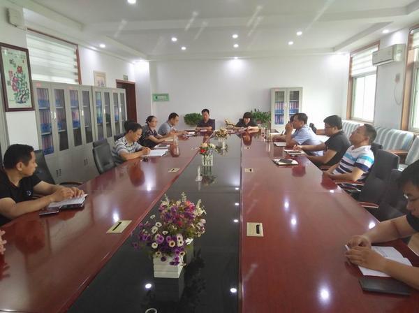 郑州市扶轮外国语学校召开暑期学校安全工作会议