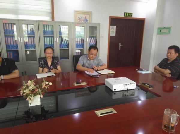 副校长魏小山传达郑州市教育局安全工作会议精神2