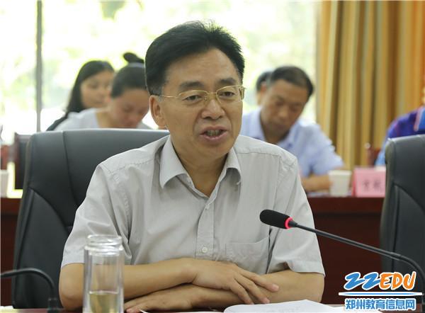 李国立副主任在会上讲话