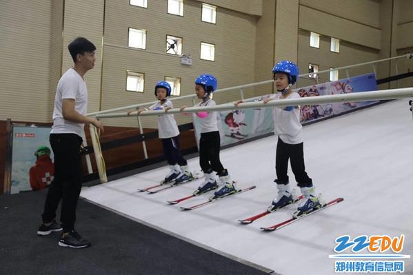 室内滑雪机实践