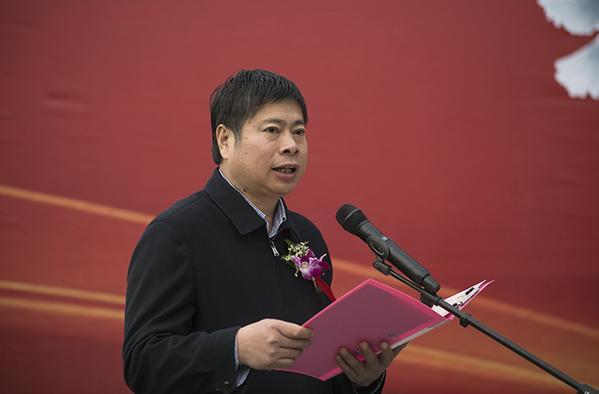 2 仪式由郑州市教育局副调研员花林昌主持