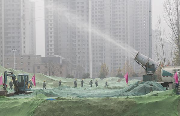 7 郑开学校建设项目现场