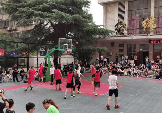 师生篮球赛