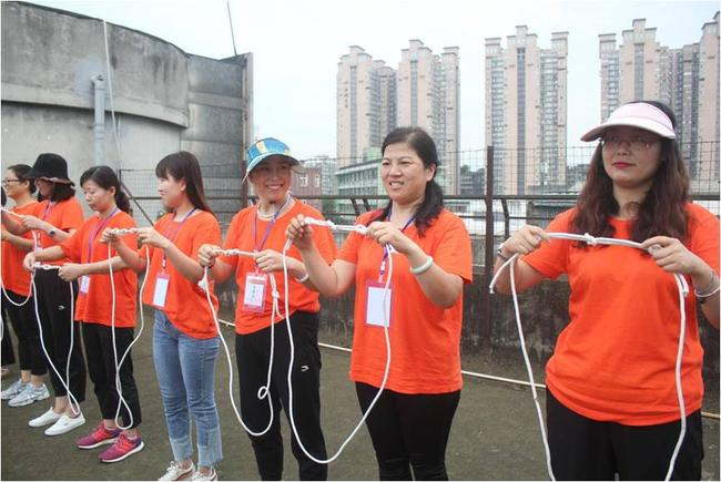 学习打绳结