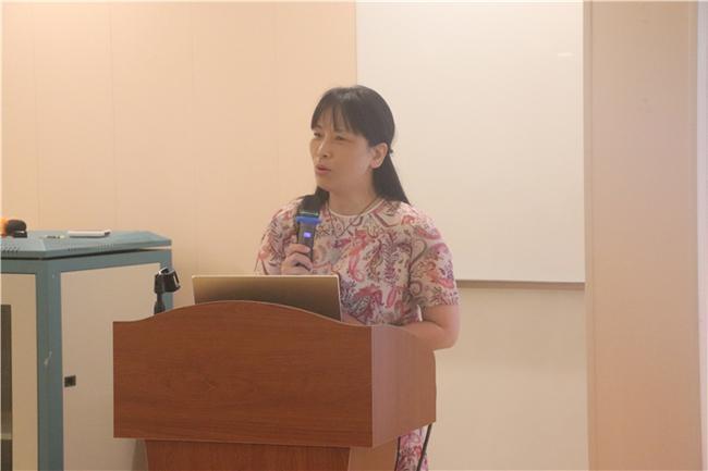 1.郑州市教工幼儿园党支部书记、园长陈春分享论坛感受和反思总结