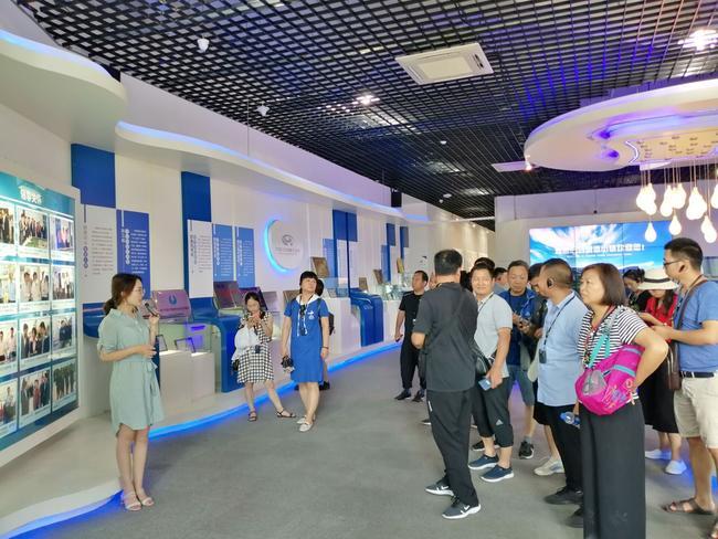 参观中国归谷嘉善科技园