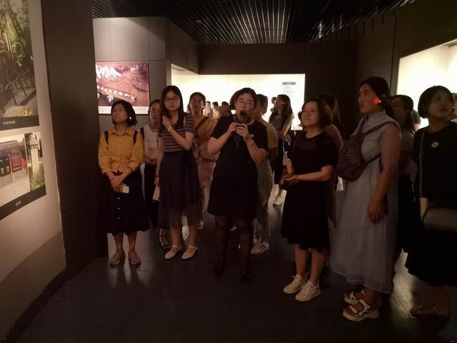 山东省博物馆参观学习