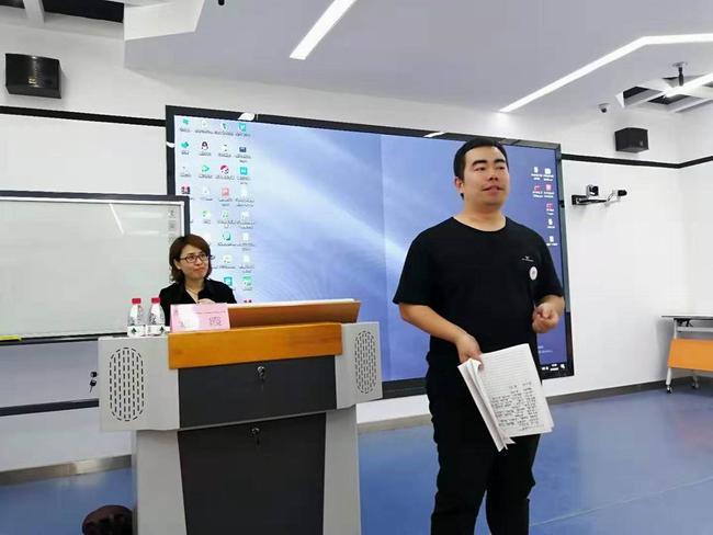 郑州市扶轮外国语学校教师刘永刚作结课总结