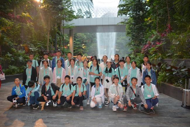 13 新加坡研学活动学生走出国门感受文化