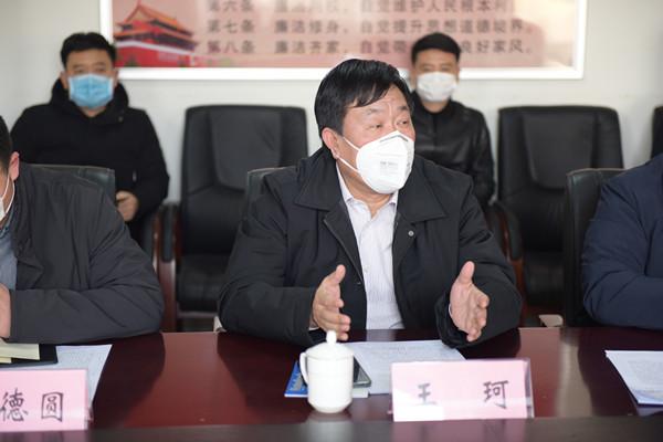 金水区政府领导王珂调研金水区教育系统疫情防控工作