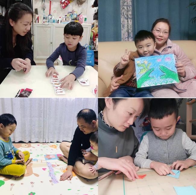 4.家长孩子互动手工、游戏、绘本