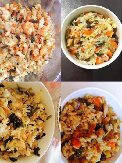 2家长们根据食谱制作幼儿园当红美食——卤米