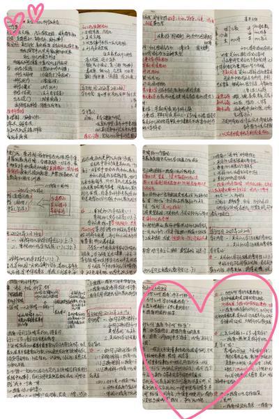 8老师们直播学习过程中认真记录的学习笔记