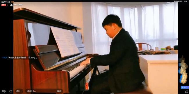六四班翟颂扬同学钢琴独奏《水边的阿狄丽娜》
