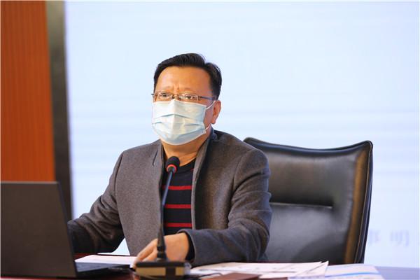 3正校级干部刘明臣部署高三复学后的教学衔接工作