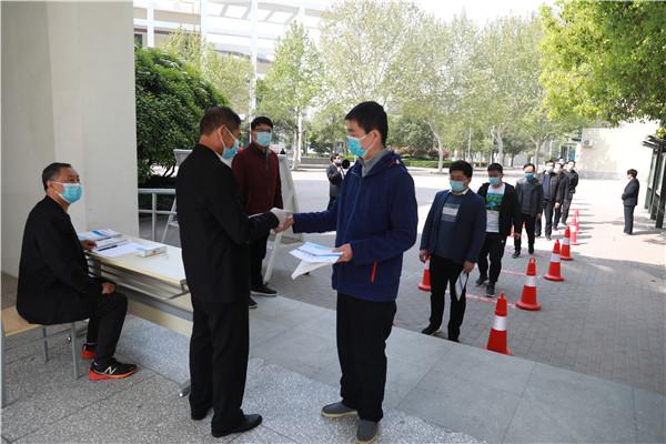 7郑州11中再次组织教职工复学演练