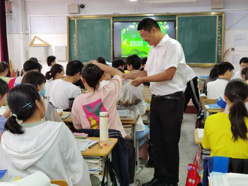 与学生一起过端午节