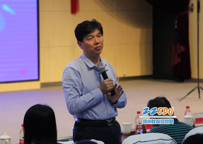 《【摩臣在线登录注册】郑州市2020-2021教育质量提升项目中学数学学科展示活动举行》