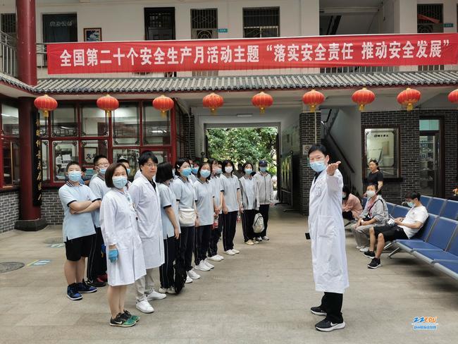 经纬学子走进河南中医药大学第三附属医院